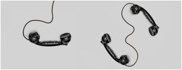 Art installation of telephones to illustrate the different ways in which your cover letter conveys information to the recruiters of your target consulting firm